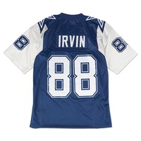 Mitchell & Ness Michael Irvin 1995 Authentic Jersey Dallas Cowboys In Blue