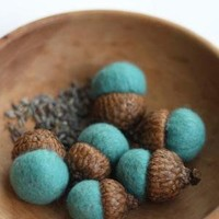 Supermarket - Lavender-filled Felted Acorns from delica