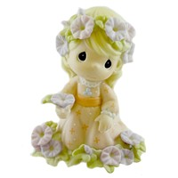 Precious Moments YOU SHALL RECEIVE A CROWN OF GLORY Porcelain Faith 113965