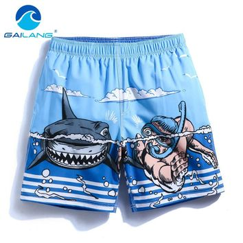 Gailang Brand Swimwear Swimsuits Boxer Trunks Bottoms Bermuda Men Beach Boardshorts Gay Sweatpants Quick Drying