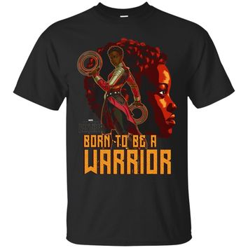 Marvel Black Panther Movie Nakia Profile Graphic T-Shirt