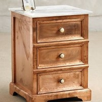 Copper Clad Nightstand by Anthropologie Copper One Size House & Home