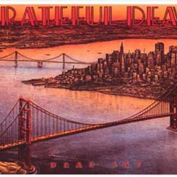 Grateful Dead San Francisco Dead Set Poster 11x17