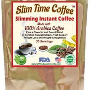 Diet Coffee with a Blend of Flavorful Certified Natural Body Slimming Extracts
