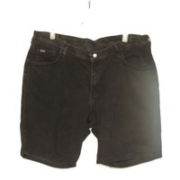 Riders Black Denim Shorts Plus Size 22