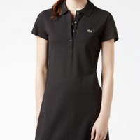 Lacoste Black Polo Dress