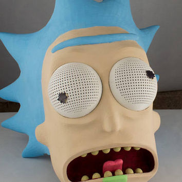 Rick Sanchez mask from Rick and Morty | Cosplay | Cosplay Mask | Mask | Comic Con | Cosplay Prop | Costume | Prop | Adult Swim | Gift