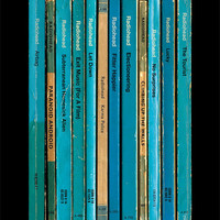 Radiohead 'OK Computer' Album As Books Poster Print