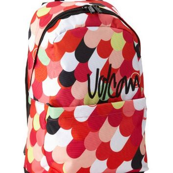 Volcom Going Back Backpack (Black/Pink)