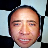 SWEET LORD O'MIGHTY! NICOLAS CAGE PILLOW