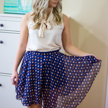Highs and Lows Skirt - Final Sale