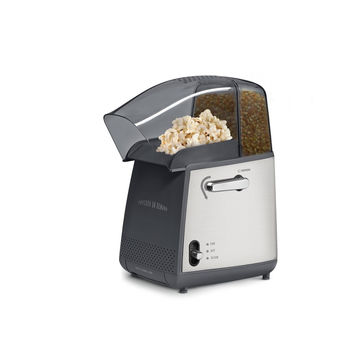 West Bend 82700 Hot Air Popcorn Popper Black/Silver