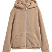H&M Pile Hooded Jacket $59.99
