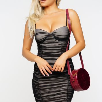 Nightingdale Mesh Dress - Black