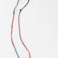 Long Snake Beads Necklace