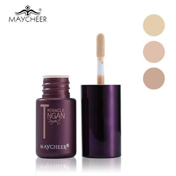 MAYCHEER  Makeup Concealer Cream Perfect Cover Pores Dark Circles Oil-control Waterproof Liquid Concealer Face Primer Cosmetic