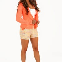 All Grown Up Blazer: Neon Coral