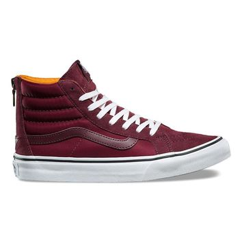 HCXX VANS BOOM BOOM SK8-HI SLIM ZIP - PORT ROYALE/TRUE WHITE
