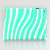 Mint Waves iPad Case by M Studio