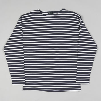 Armor-Lux 1525 Long Sleeve Loctudy Top Navy/White