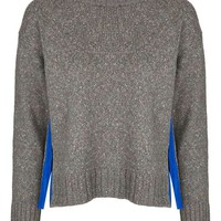 Bright Trim Marl Jumper