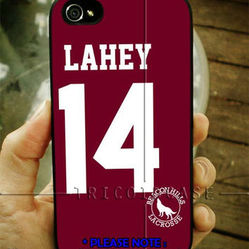Teen Wolf ISAAC LAHEY 14 Lacrosse iPhone Case 4 / 4S / 5 Case Samsung Galaxy S3 / S4 Case