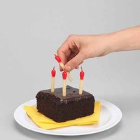 Matchstick Cake Candles - Red One