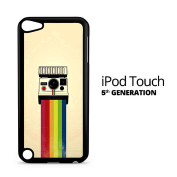 Polaroid Camera Colorful Rainbow iPod Touch 5 Case