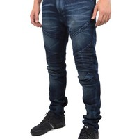 TRUE RELIGIONROCCO ACTIVE MOTO JEANS - DENIM CHTD