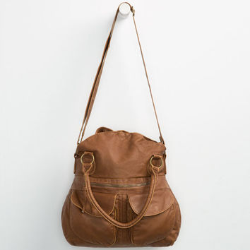 T-Shirt & Jeans Wendy Tote Bag Cognac One Size For Women 25149240901