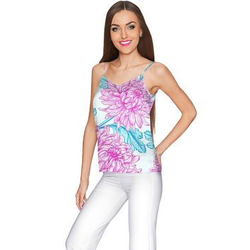 Floral Bliss Ella V-Neck Camisole - Women