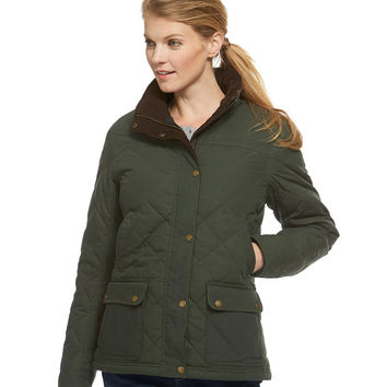 L.L.Bean Upcountry Waxed Cotton Down Jacket