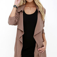 Gentle Fawn Fountain Washed Brown Jacket