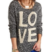 MARLED LOVE PULLOVER SWEATER