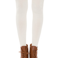 Hope Over The Knee Socks - Ivory