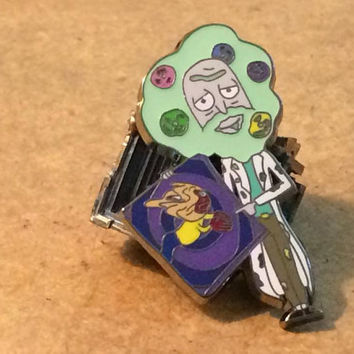 Rick Ross V2 - Rick and Morty / Bob Ross Hat Pin