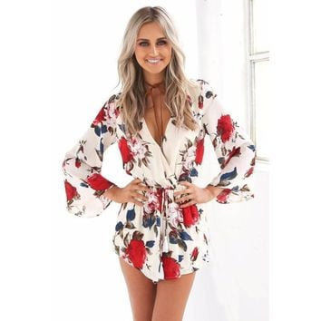 Moonlit Roses Playsuit