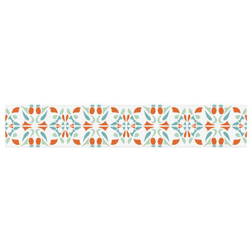 "Miranda Mol ""Italian Kitchen Orange Green"" Table Runner"