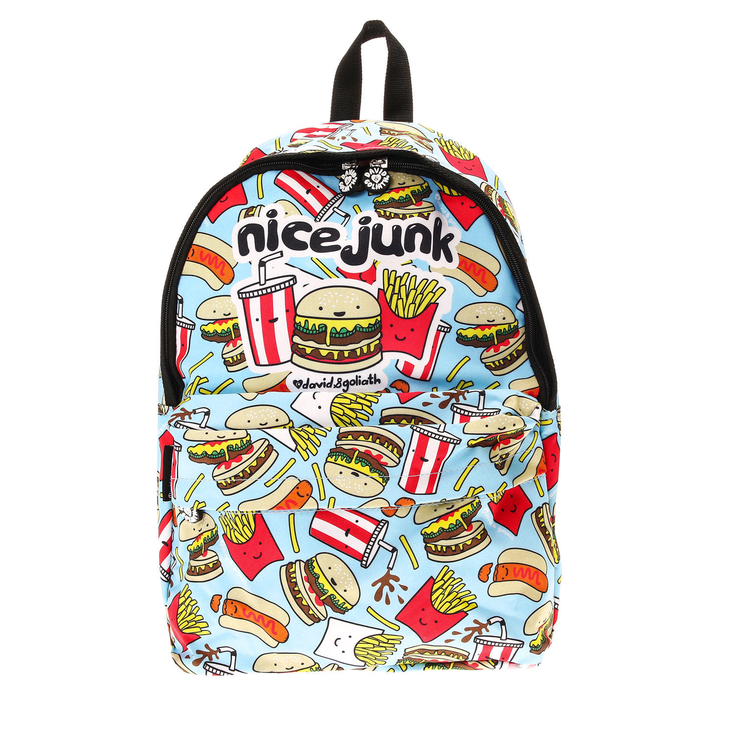 David Amp Goliath Junk Food Backpack From Claires Co Uk