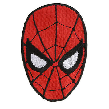 Marvel Spider-Man Head Iron-On Patch