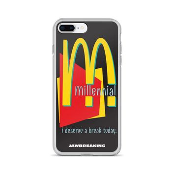 Millennial iPhone Case 6/6s, 6/6s Plus , 7 Plus/8, 7/8