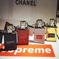 """Supreme"" Fashion Retro Creative Small Gift Kerosene Lighter"