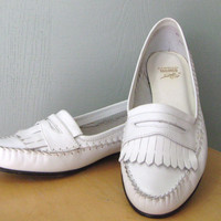 Vintage Women's Bass Loafers Moccasins Size 10