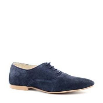 Blue Shoes in Suede