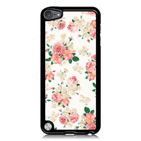 Pink Carnation Floral Case for Apple iPod Touch 5