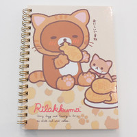 JapanLA - Rilakkuma Kitty Spiral Notebook