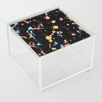 Spatter Acrylic Box by duckyb
