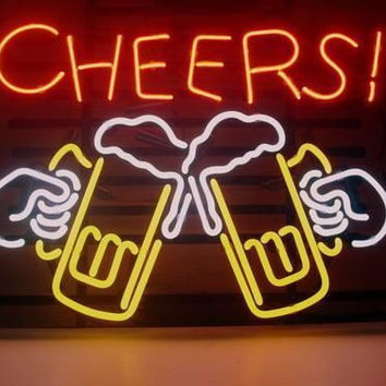 Cheers Beer Neon Sign