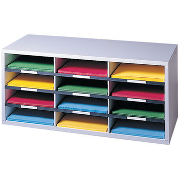 Fellowes Literature Organizer (12-compartment Sorter)