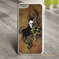 Tom Hiddleston Loki Madness Tribal Custom case for iPhone, iPod and iPad